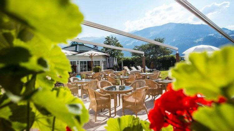 Sonnenterrasse Hotel Theresa in Zell am Ziller