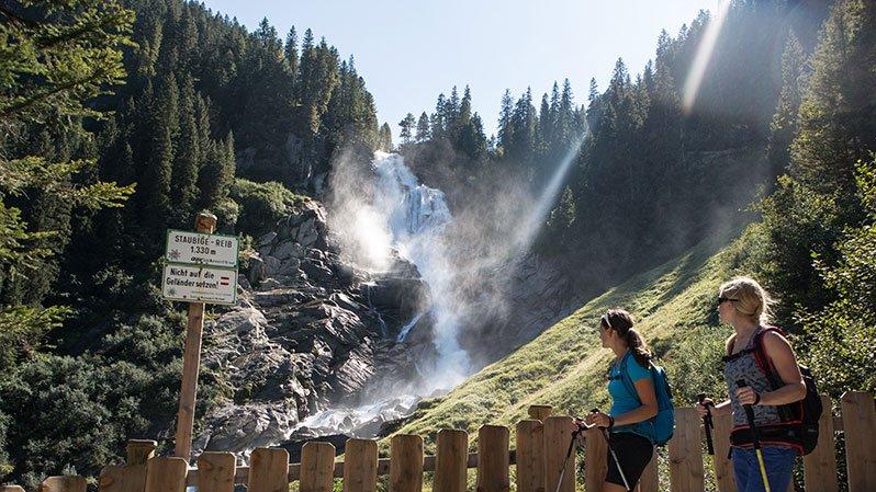 Krimmler Wasserfälle im Zillertal