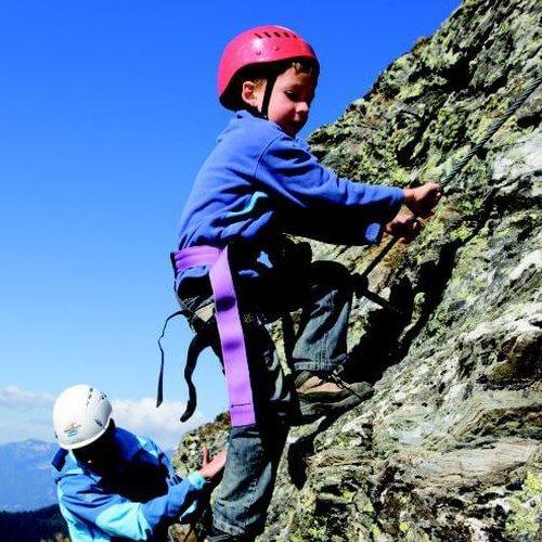 Klettern für Kinder Hotel Theresa