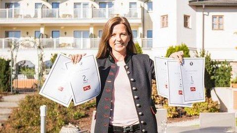 TripAdvisor und Holiday Check Auszeichnungen für das Hotel Theresa