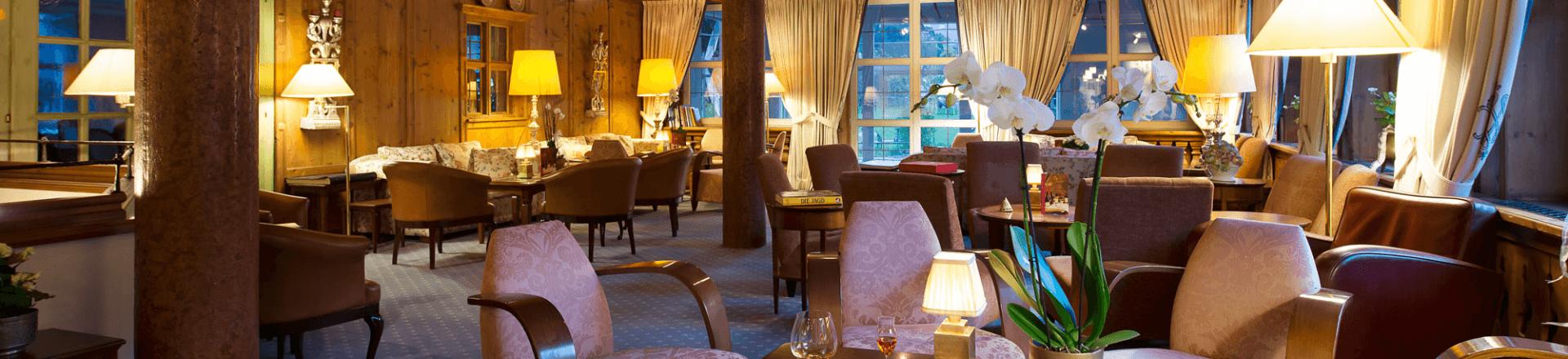 Lounge im Verwöhnhotel Theresa