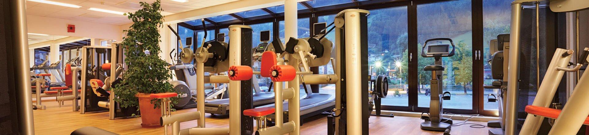 Fitnessraum im Sporthotel Theresa im Zillertal