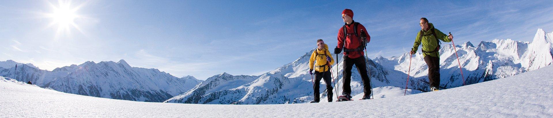 Schneeschuhwanderung Sporthotel Theresa