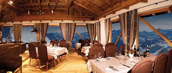 Essen gehen Wedelhütte im Zillertal