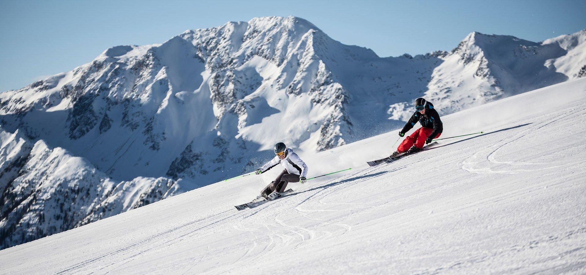 Skifahren Freizeitarena Zillertal