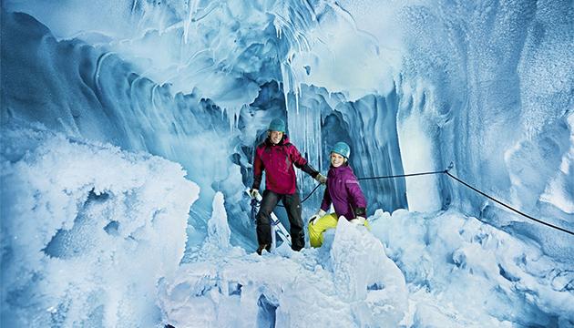 Eishöhle Hintertuxer Gletscher Aktivhotel Theresa