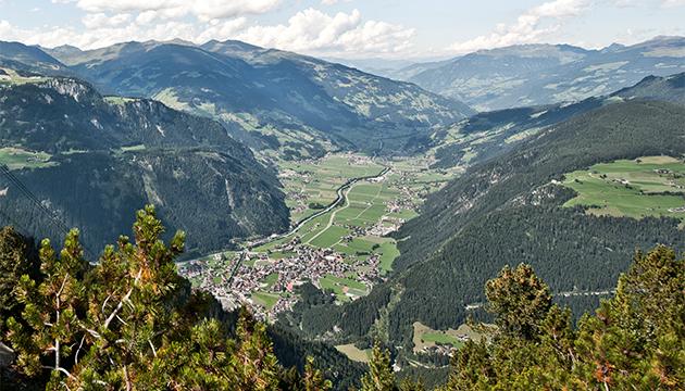 Zillertal Bergwelt Aktivurlaub Tirol Zillertal