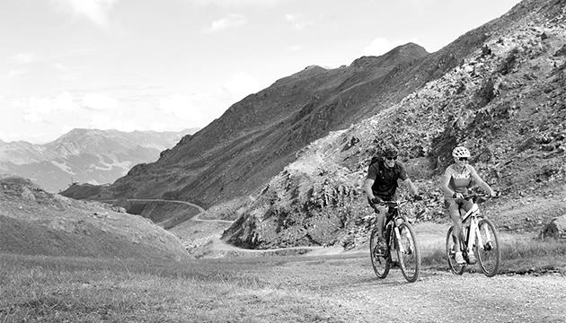 Radfahren im Zillertal Wedelhütte ebike