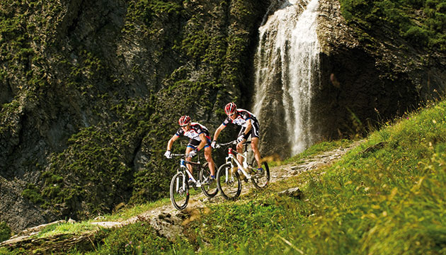 Downhillstrecke Bike Zillertal