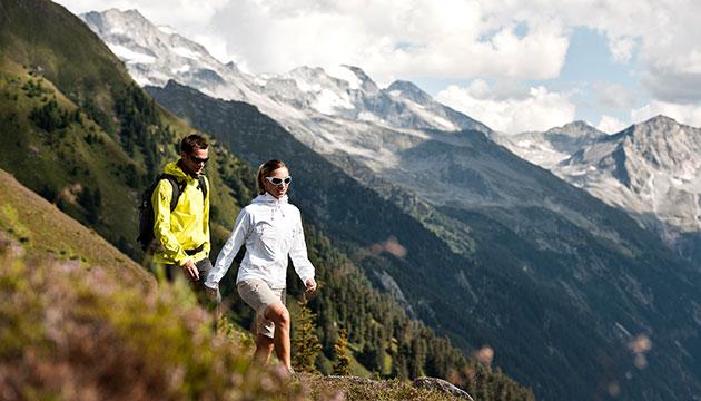 Wandern im Herbst Zillertal
