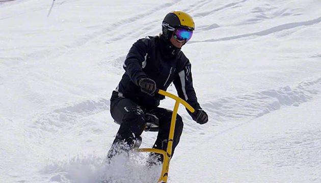 Snowbike für Anfänger