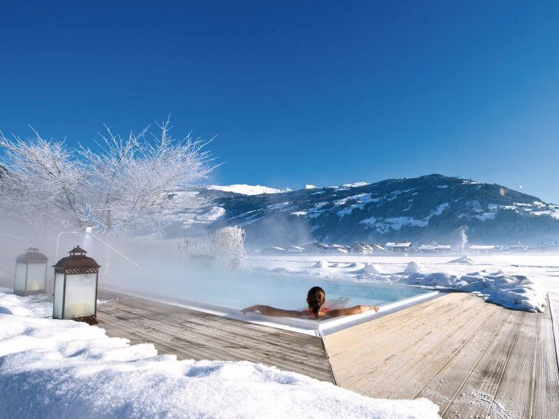 5 Pools im Wellnesshotel im Zillertal