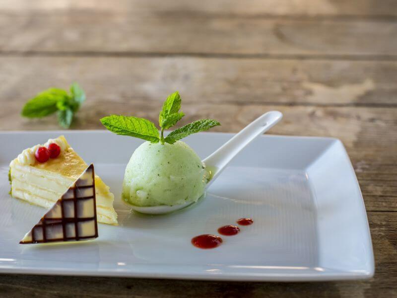 Desserts im Verwöhnhotel Theresa
