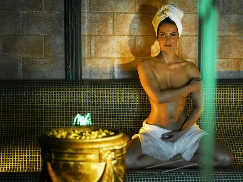 Sauna-Welt im Wellnesshotel Theresa