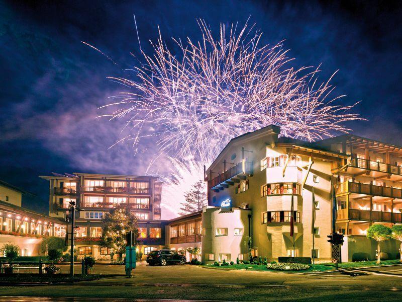 Feuerwerk im Romantikhotel Theresa