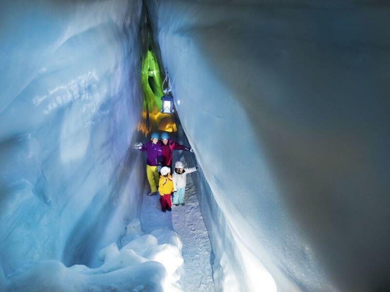 Ausflugsziel Eishöhle im Zillertal