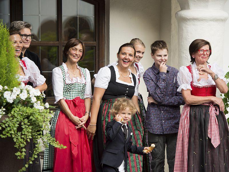50 Jahr Feier im Hotel Theresa die Gastgeberfamilie