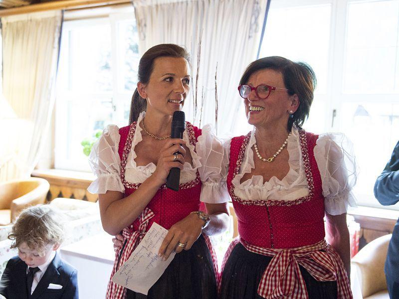 50 Jahr Feier im Hotel Theresa in Zell, Gastgeber