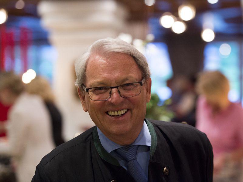 50 Jahr Feier im Hotel Theresa in Zell, Gastgeber Siegfried Egger