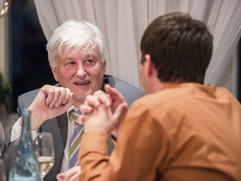 Gäste bei der 50 Jahr Feier im Hotel Theresa in Zell am Ziller