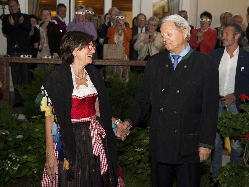 50 Jahr Feier im Hotel Theresa in Zell am Ziller, die Gastgeber