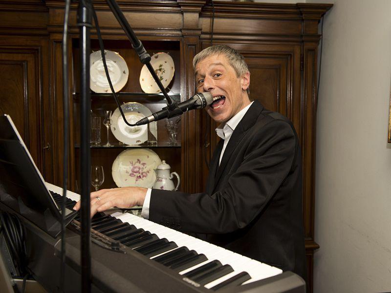 Musikalische Unterhaltung bei der 50 Jahr Feier im Hotel Theresa in Zell am Ziller