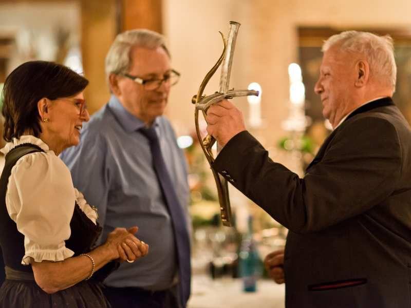 Goldene Hochzeit Feier im Hotel Theresa