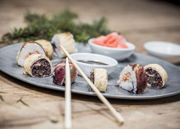 Alpines Sushi im Genusshotel Theresa