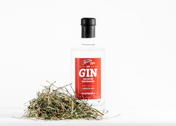 Gin hausgemacht vom Gourmethotel Theresa