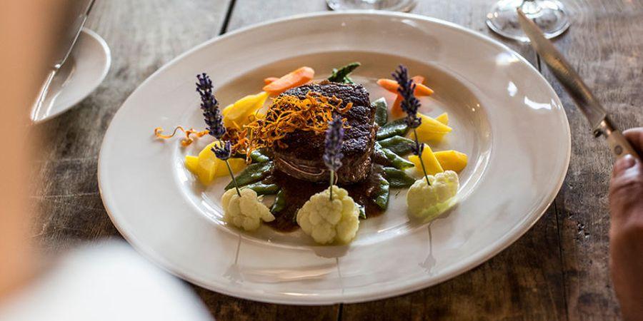 Natürliche Gerichte im Gourmethotel Theresa