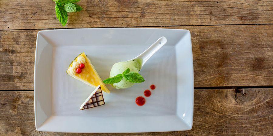 Hausgemachte Desserts im Verwöhnhotel Theresa
