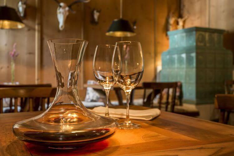 Edler Wein im Genusshotel Theresa