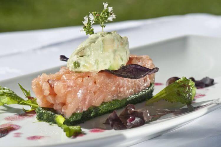 Frischer Fisch aus der Region im Restaurant Theresa