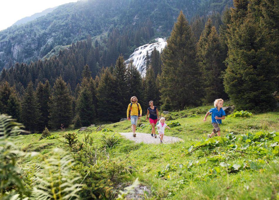Familienurlaub mit Kindern im Zillertal