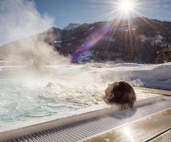 Whirlpool Wellnessurlaub im Zillertal