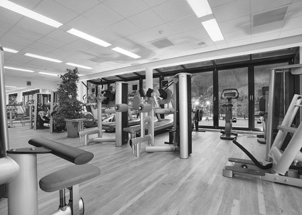 Fitnessraum Aktivhotel im Zillertal