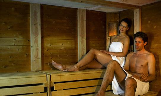 Alpen Sauna im Sporthotel Theresa
