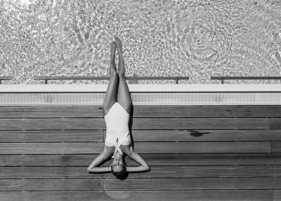 Traumhafter Pool zum relaxen mit Ausblick im Zillertal
