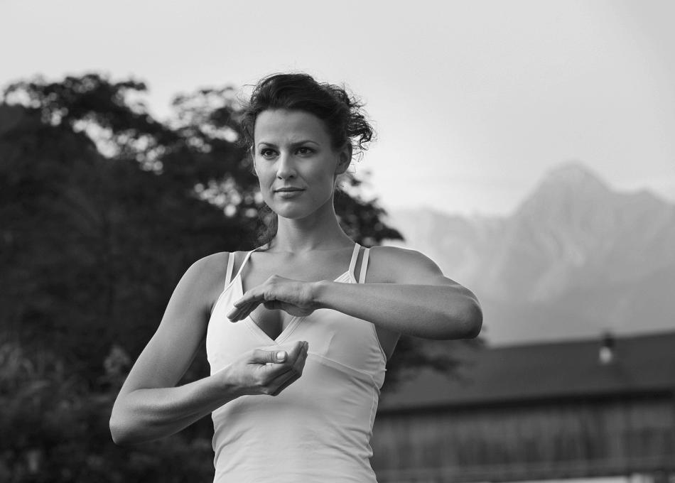 Yoga und Gymnastikprogramm Aktivurlaub in Tirol