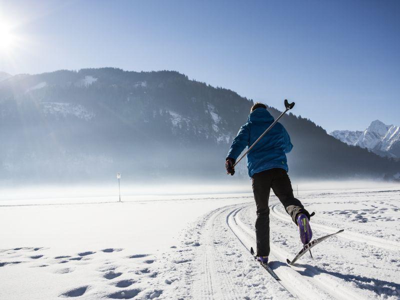 Langlaufen im Winterurlaub Zell am Ziller