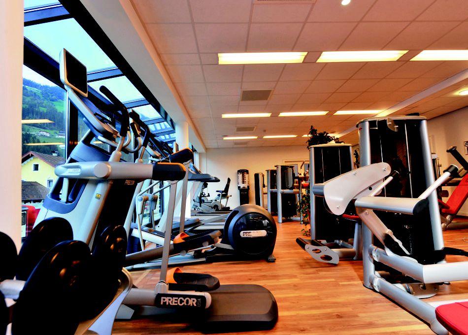 Fitnessraum Aktivurlaub Tirol