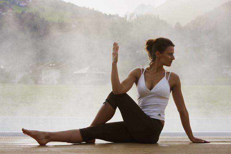 Yoga im Wellnesshotel im Zillertal