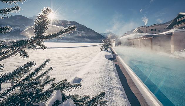 Skifahren und Wellness im Hotel Theresa