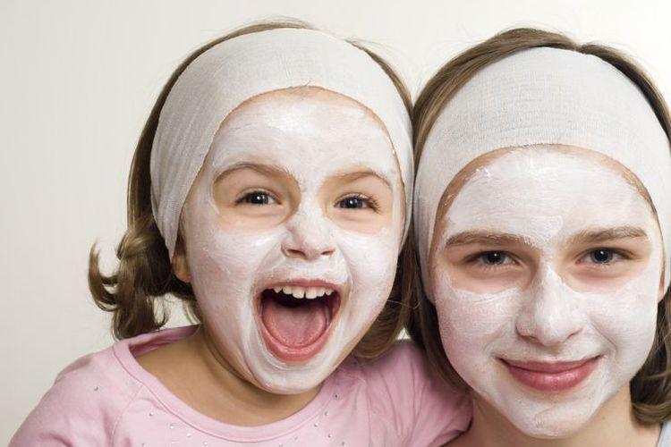 Kosmetikbehandlungen für Kinder im Familienhotel
